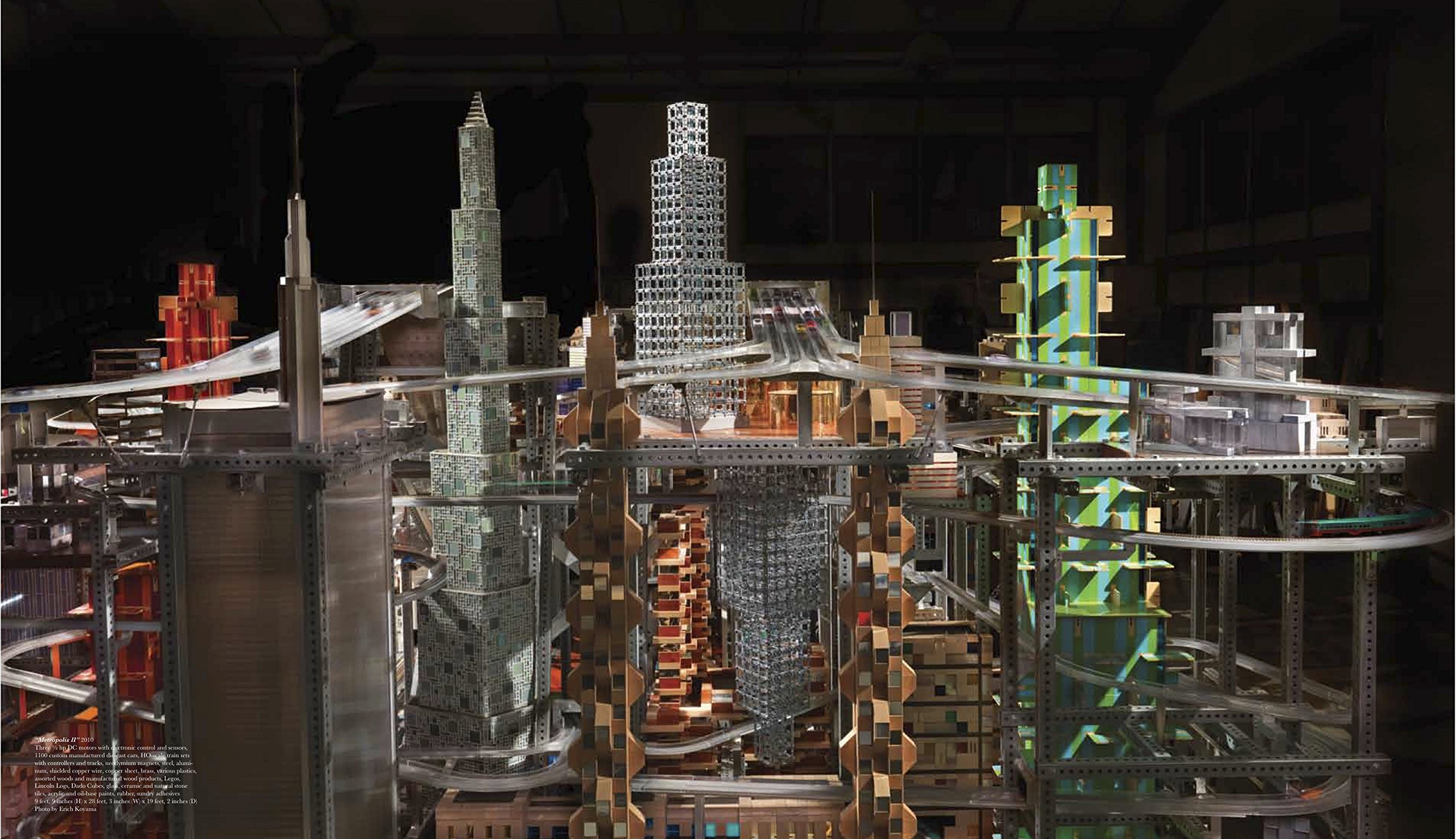 Chris Burden, Metropolis II, 2010.