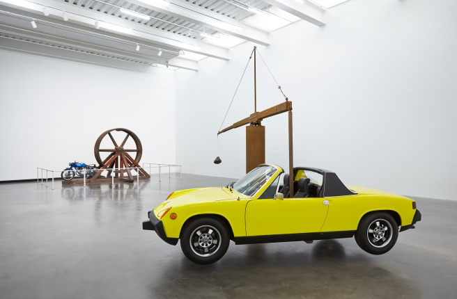 """Chris Burden: Extreme Measures"" survey exhibition at the New Museum, New York."