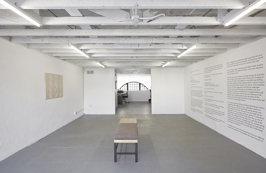 Mezzanine installation view. Courtesy of Thomas Duncan Gallery.