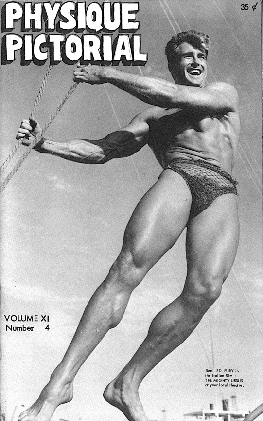 Bob Mizer Physique Pictorial Volume 11 Number 4, May 1962 Publication Printed with permission of Bob Mizer Foundation, Inc.