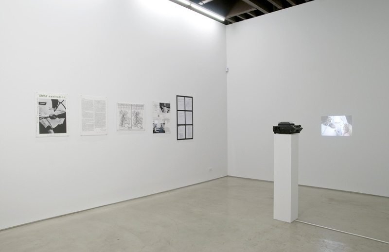 Installation view: Stay in Love, curated by Chris Sharp, Lisa Cooley and Laurel Gitlen, New York, 2014. Courtesy of the gallery.