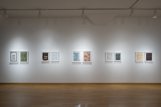Rebecca Morris. Installation view. Courtesy of Stephen Wirtz Gallery.