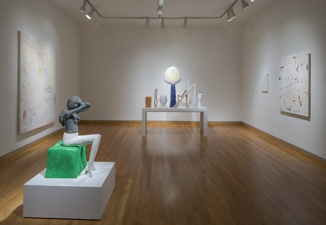 """The Optimists"" installation view. Courtesy of Stephen Wirtz."