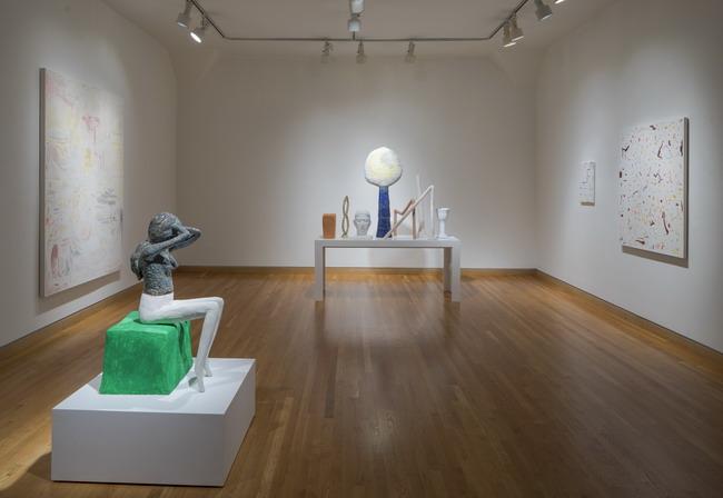 """The Optimists"" installation view. Courtesy of Stephen Wirtz."