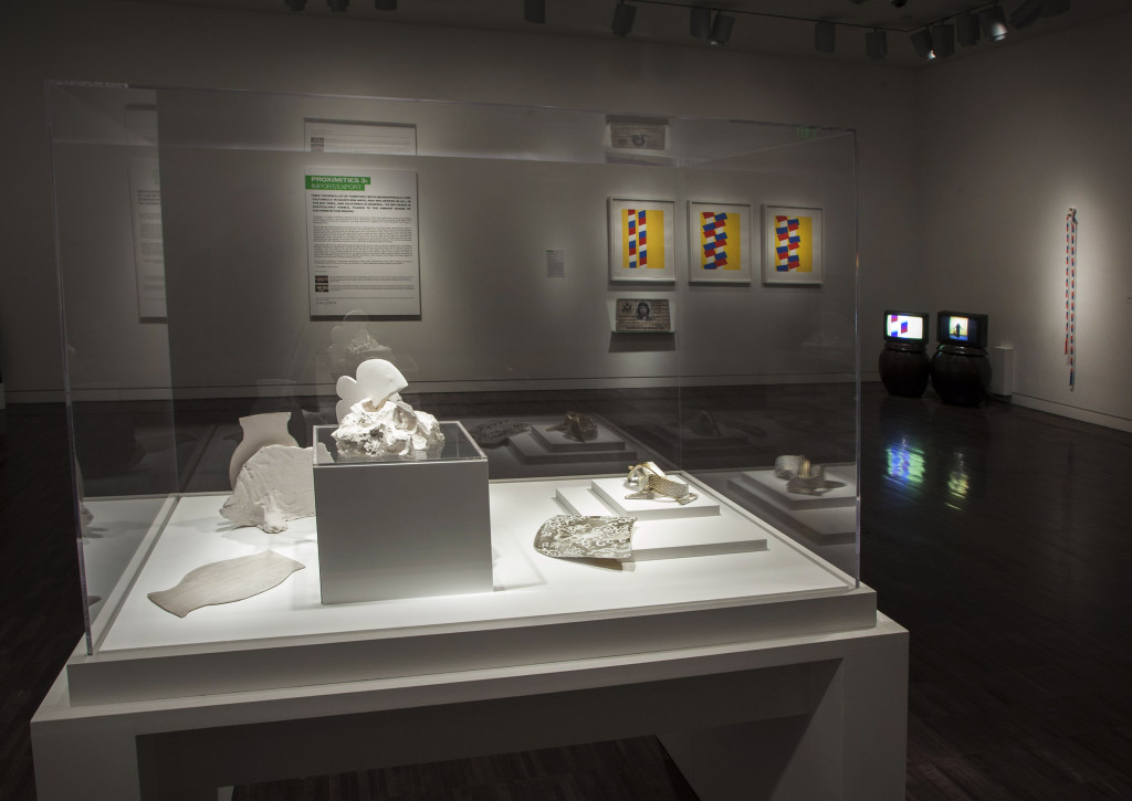 """Proximities 3: Import/Export"" Installation view. Courtesy of Asian Art Museum."