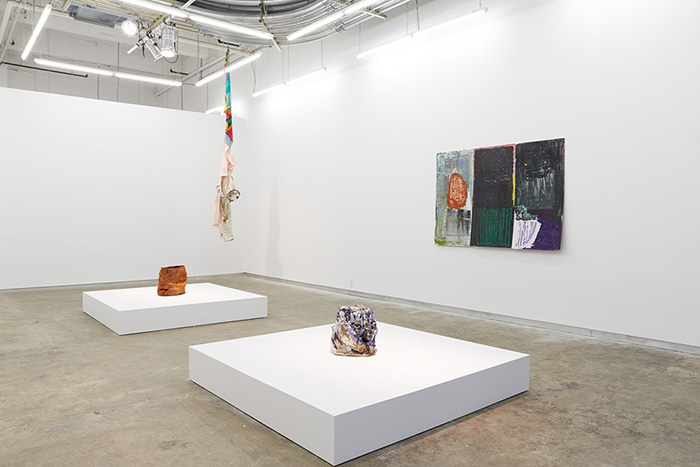 Exhibition view, If This is Left, What About Right?, 2014 Courtesy of Kate Werble Gallery, New York, NY.