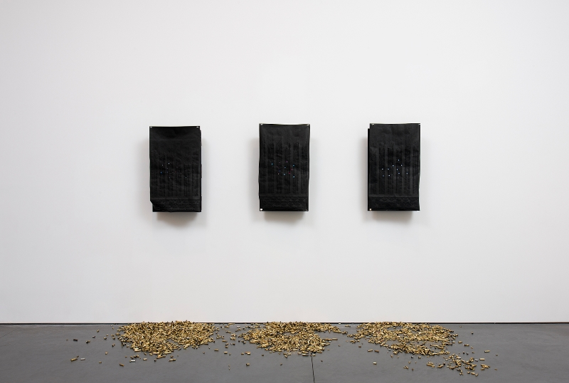 Hazel Hill McCarthy III, installation view Courtesy of the artist and Perry Rubenstein Gallery