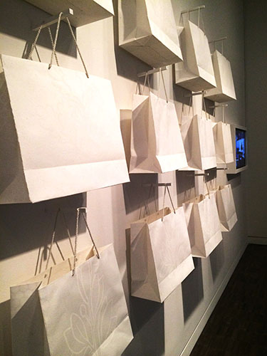 Paper Bag Project, by Imin Yeh (1983). Handmade paper bag. Courtesy of the artist.