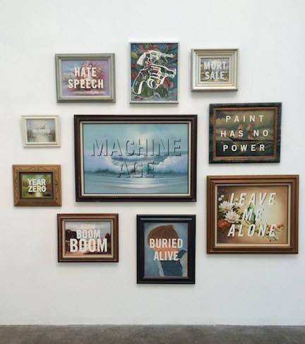 Installation view.  Courtesy of Steven Wolf Fine Arts.
