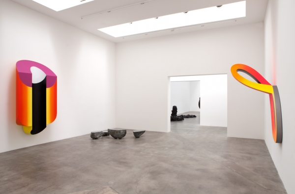 Nobuo Sekine Installation view, 2014 Courtesy of Blum & Poe, Los Angeles