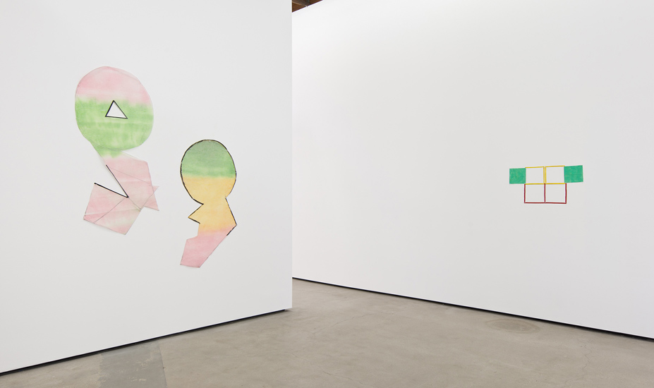 Installation view of 'Supports/Surfaces is Alive and Well' Courtesy of Cherry and Martin. Cherry and Martin, Los Angeles