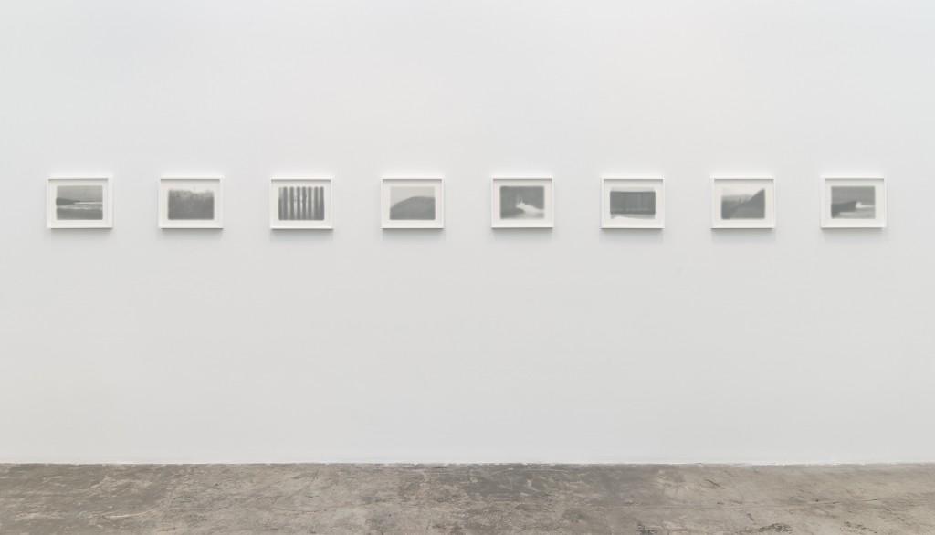 """""""Tony de los Reyes: rio grande/rio bravo"""" installation view. Courtesy of Angles Gallery."""