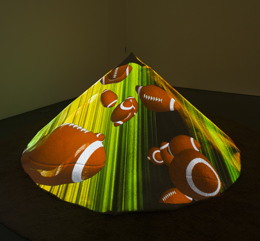 Animal Charm, Video Campfire, 2014 Courtesy of the artist and Perry Rubenstein Gallery