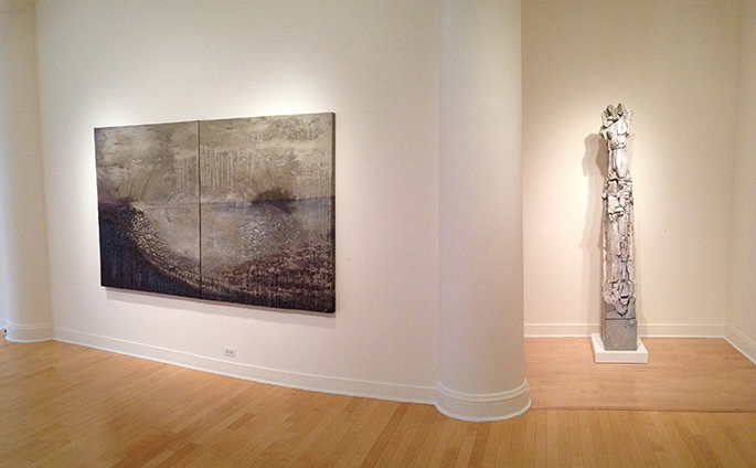 Installation view.  Courtesy of Dolby Chadwick Gallery.