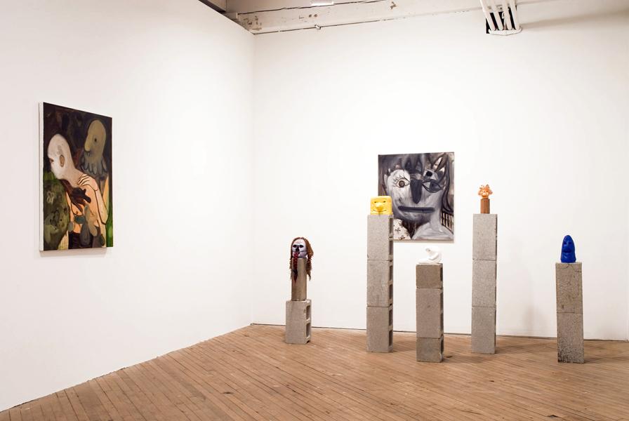 Brian Kokoska. Installation view.  Courtesy of the artist.