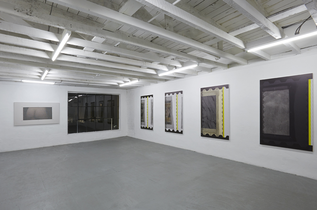 """Sean Paul """"Service Relations"""", mezzanine installation view. Courtesy of Thomas Duncan Gallery."""