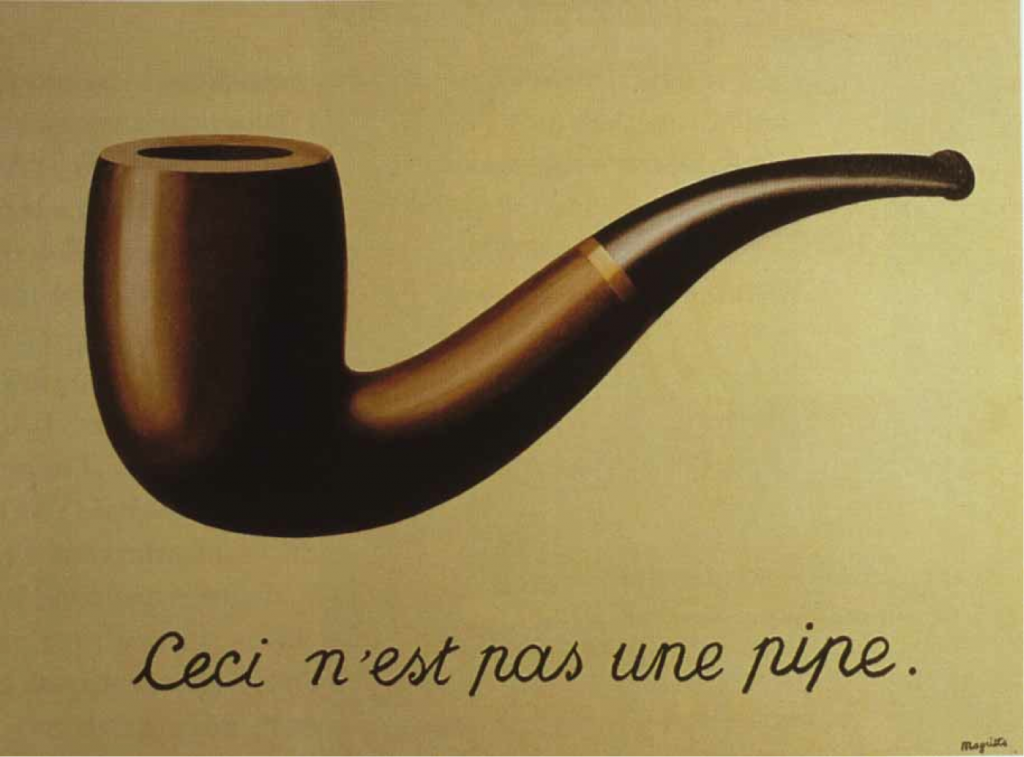 """The Wind and the Song"" by Magritte."