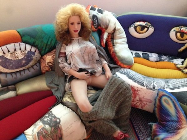 Bjarne Melgaard, Think I'm Gonna Have a Baby, 2014. Installation view. Courtesy of the artist.