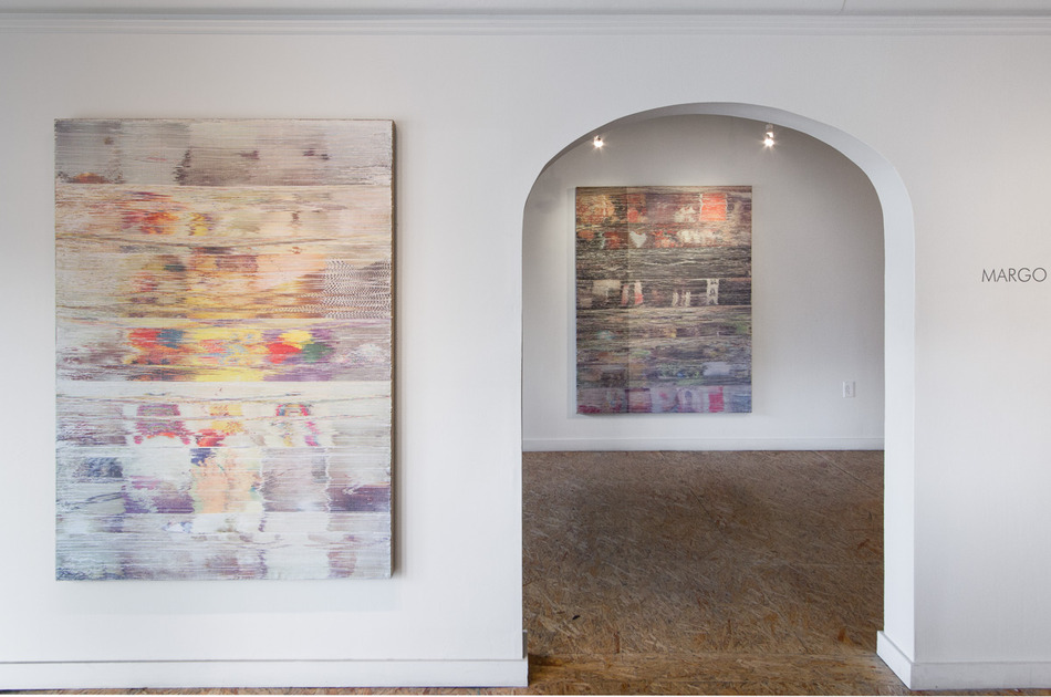 """Margo Wolowiec, """"Following"""" installation view, image Johansson Projects"""