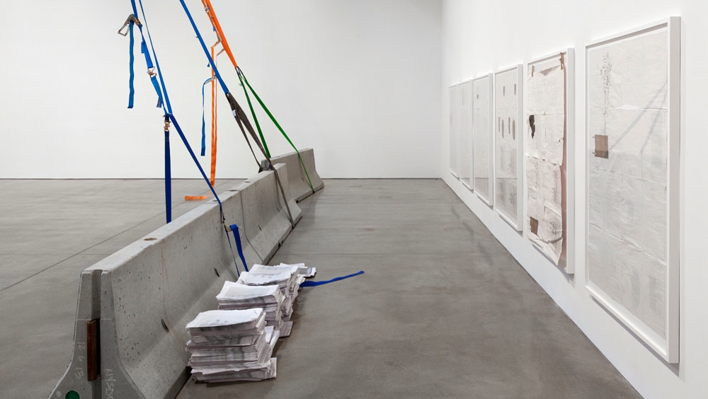 Installation view.  Courtesy of Paula Cooper Gallery, New York