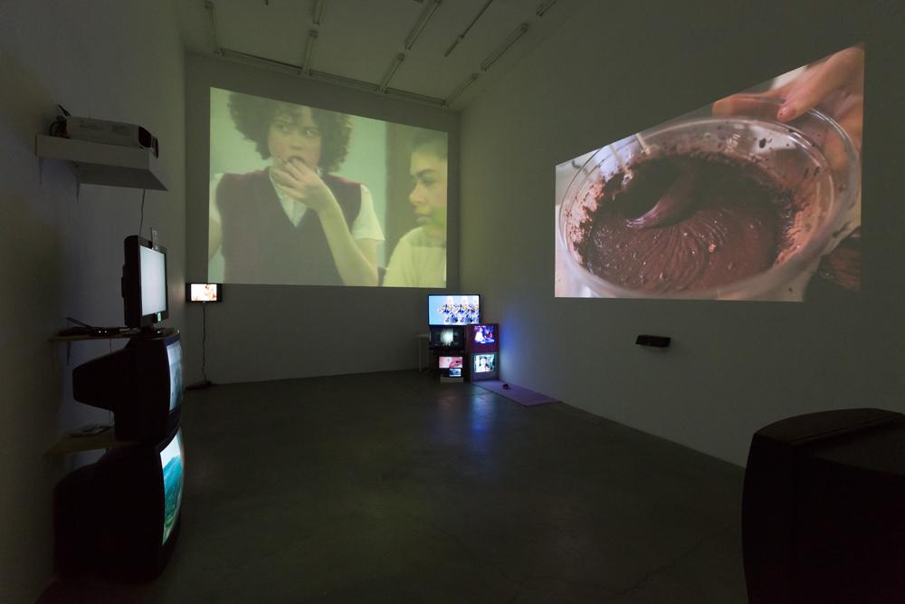 Installation view.  Courtesy of Anat Ebgi, Los Angeles.
