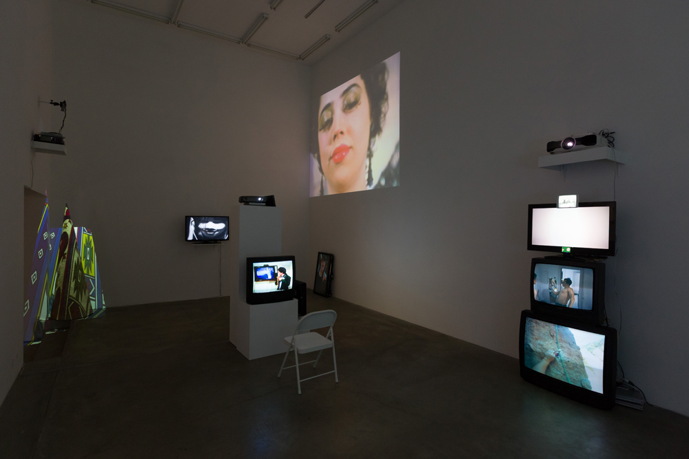 Installation view.  Courtesy of Anat Ebgi, Los Angeles.