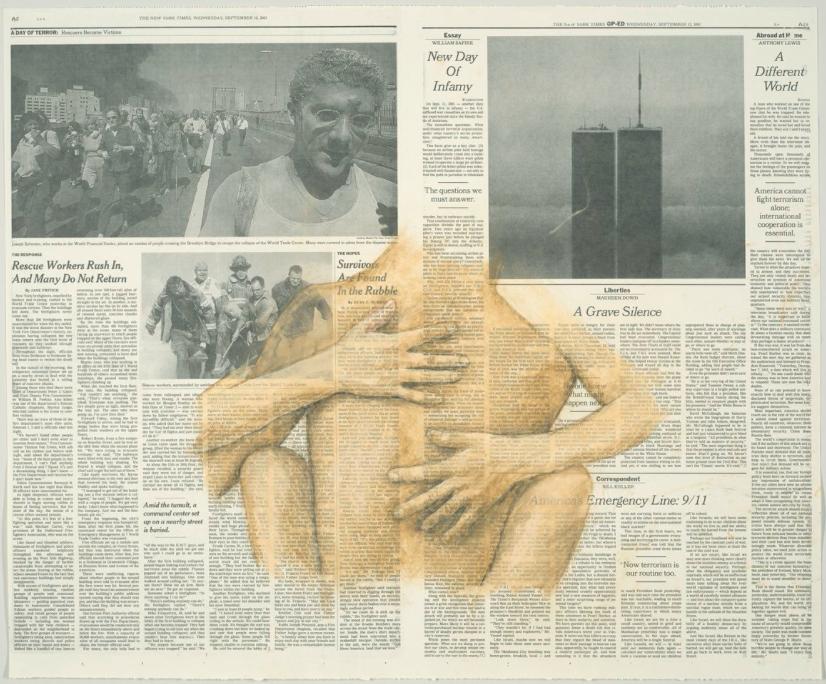 """September 12"" by Robert Gober. Courtesy of the Hammer Museum."
