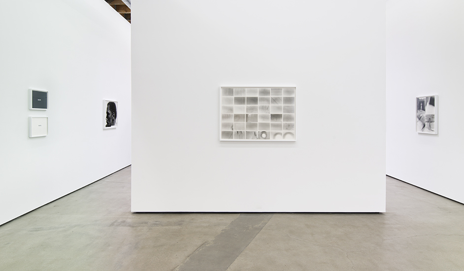 Installation view of 'Lew Thomas: Structural(ism) and Photography' Courtesy of Cherry and Martin.