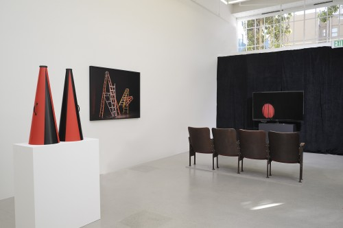 Installation view. Courtesy of Jessica Silverman Gallery.
