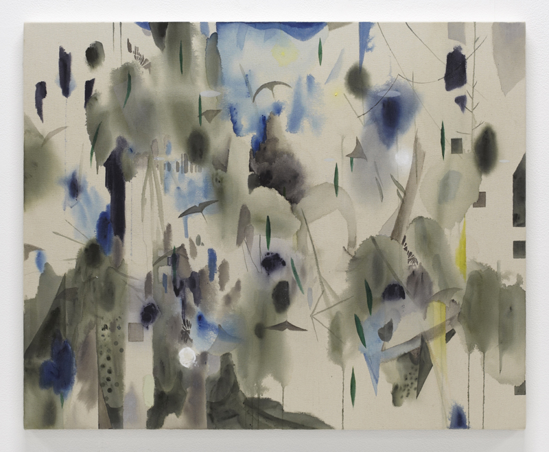 Shinpei Kusanagi my cold cove - II, 2012 Acrylic on canvas 65.5 x 80.5 cm 25 3/4 x 31 3/4 in. Courtesy of Altman Siegel gallery.