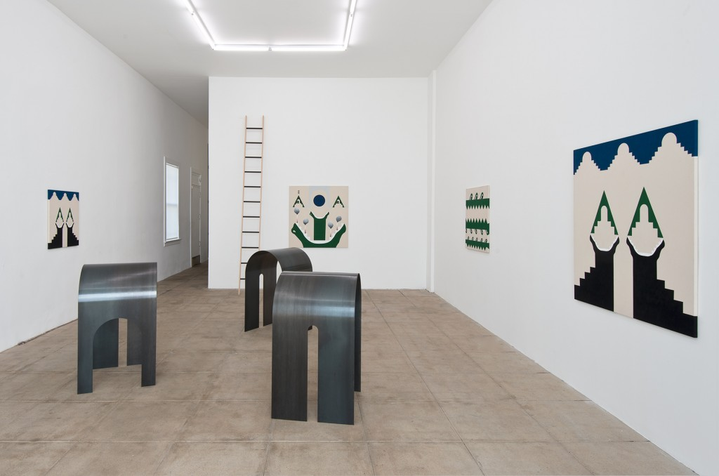 Installation view.  Courtesy of Overduin & Co., Los Angeles.