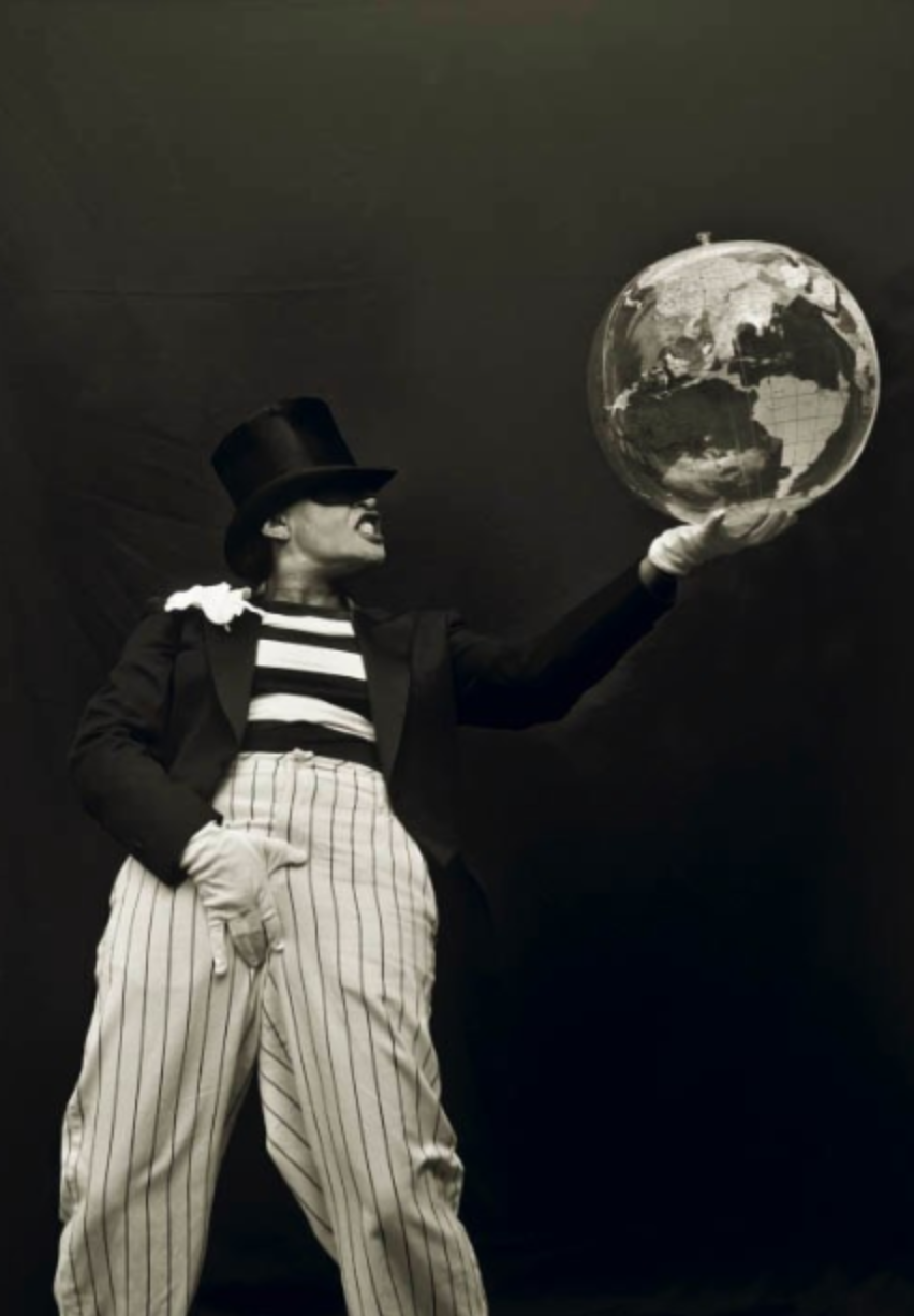 "Carrie Mae Weems, ""The Joker, See Faust (Alternate Image)"" (2003). Courtesy of the artist and Gallery Paule Anglim."