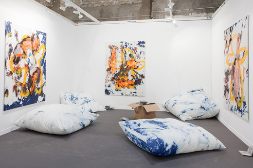 Korakrit Arunanondchai. installation view.  Courtesy of CLEARING and MoMA PS1.