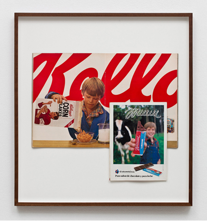 "Eduardo Consuegra, ""Untitled (2%), 2011. Framed magazine page, 24.5 x 26.5 inches (62 x 67 cm) EC1311."