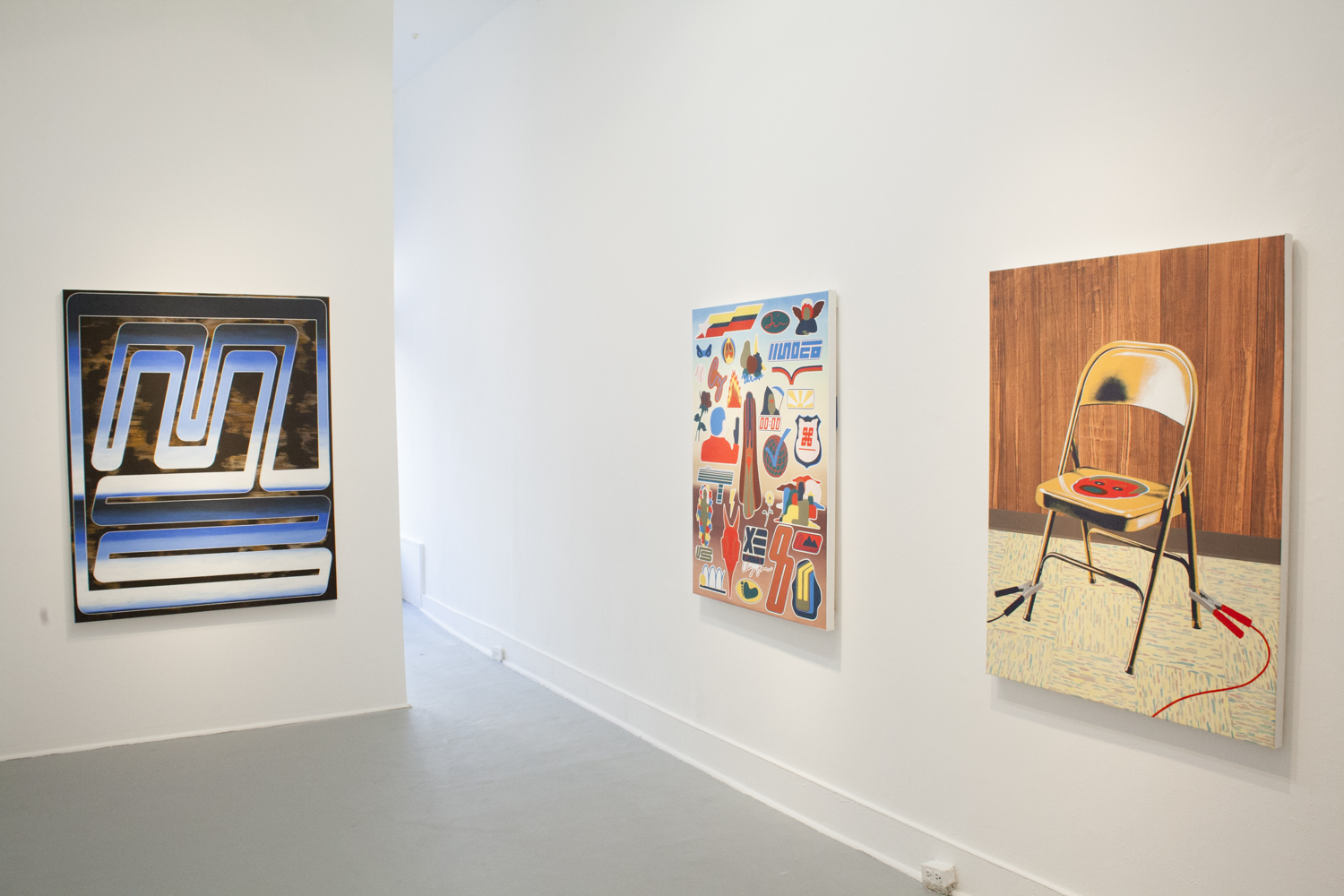Installation view. Courtesy of Ever Gold Gallery.