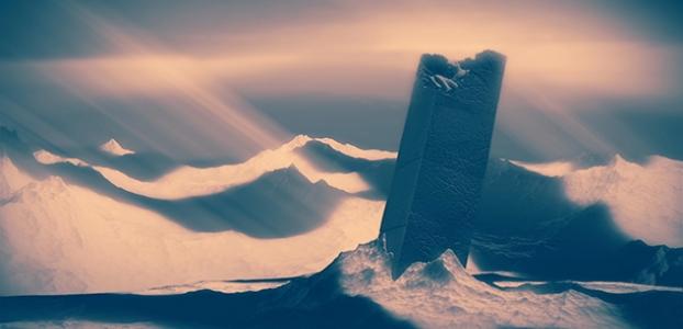 "Ryan Whittier Hale, Still from ""Monolith"" (2012). Courtesy of Eyebeam."