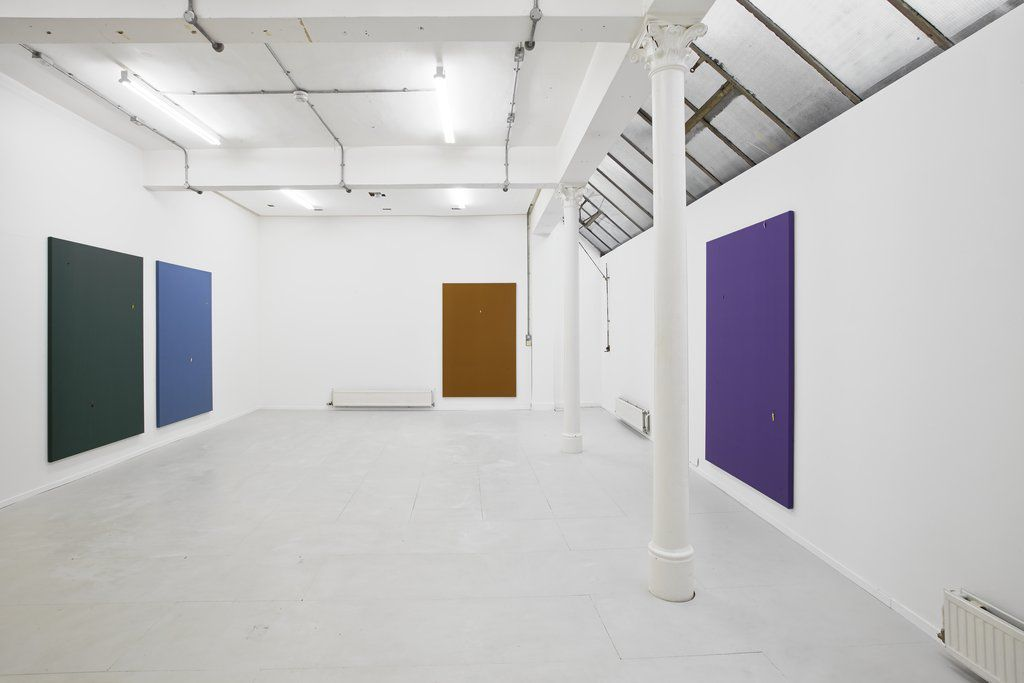 """Paul Cowan """"http://youtu.be/7e0F5Y2mjqo"""" installation view. Courtesy of Jonathan Viner."""