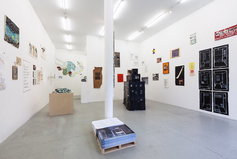 Installation view. Courtesy of James Fuentes.