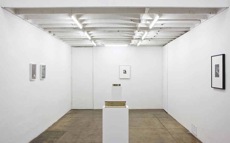 Installation view.  Courtesy of Thomas Duncan Gallery.