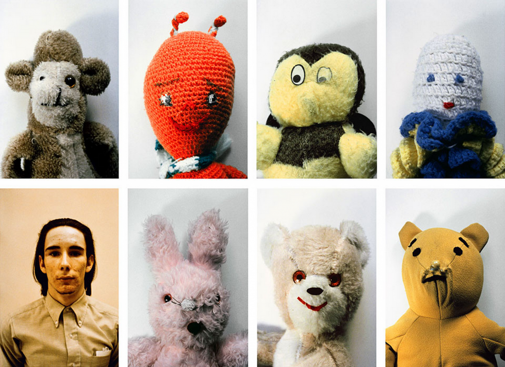 "Mike Kelley, ""Ahh...Youth!"", 1991. Courtesy of MOCA, Los Angeles."