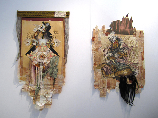 Swoon, Monica Canilao, Chandran Gallery