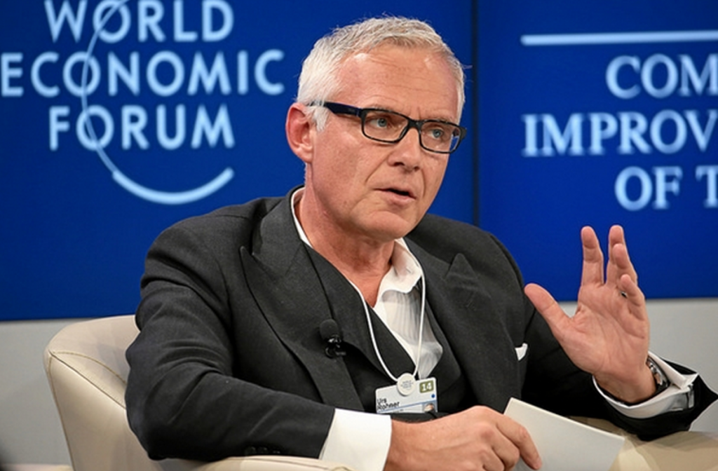 Urs Rohner, chairman of the board of directors, Credit Suisse Group. Photo by Jolanda Flubacher.