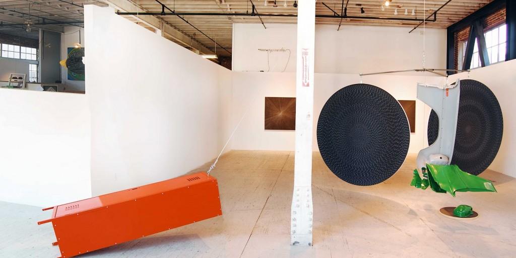 "Michelle Grabner and Brad Killam, ""Down Block,"" 2010. Courtesy of Gallery 16."