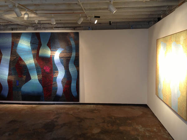 """Jack Wright: A Unified Theory of Painting,"" 2014, installation view. Courtesy of Krowswork."