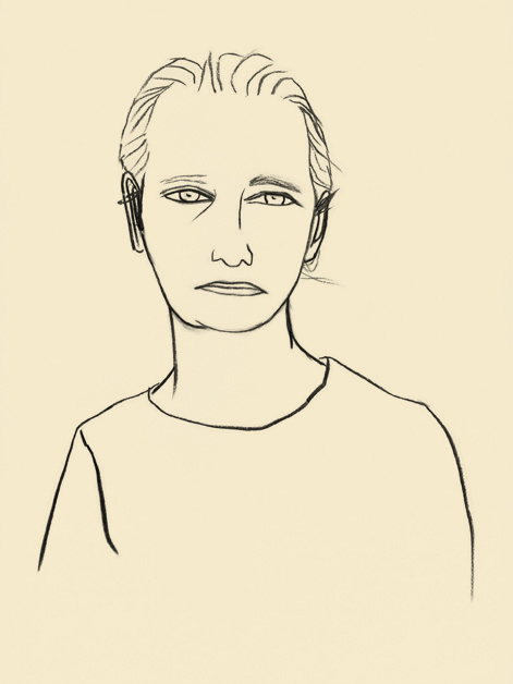 Jadranka Kosorcic, Nena Segota, drawing, 2014.