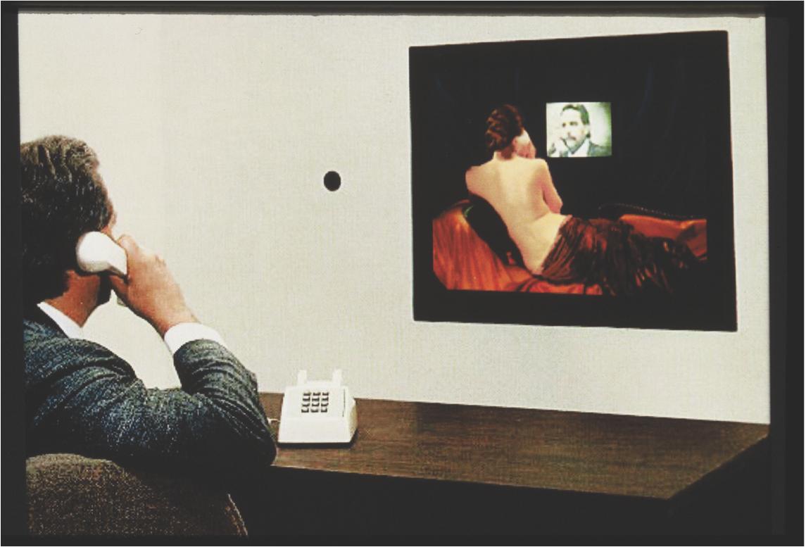 """Millenium Venus,"" 1990. Interactive laserdisc installation. Courtesy of the artist."