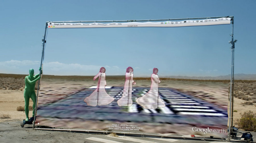 """Hito Steyerl, """"How Not To Be Seen. A Fucking Didactic Educational .MOV File,"""" HD video file, single screen, 14 min, 2013."""