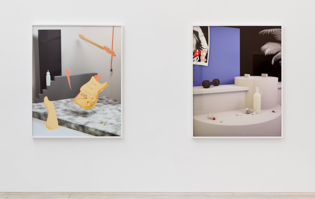 """""""Synthesizers,"""" 2012, installation view. Courtesy Takeshi Murata and Salon 94, New York."""