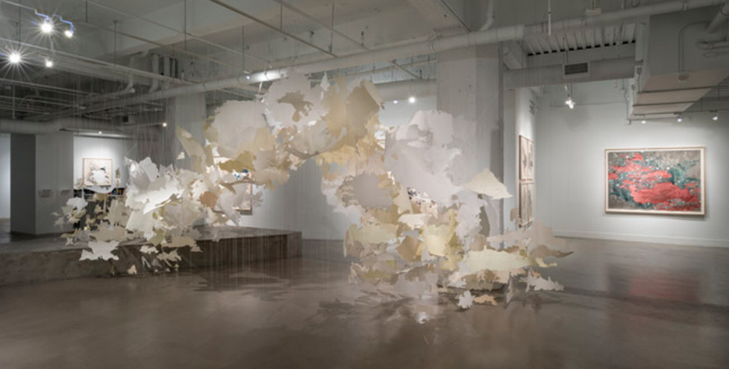 "Val Britton, ""Passage,"" 2014, installation view. Courtesy the artist and Gallery Wendi Norris."