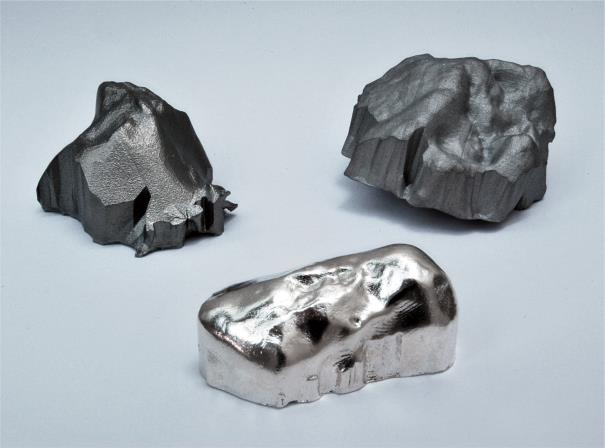 "YURI PATTISON ""chelyabinsk eBay extrusions,"" .925 silver, 316L stainless steel, titanium, and .STL files Largest: 4.5 x 4.1 x 2.5 cm (1 3/4 x 1 5/8 x 0 7/8 in.), 2013. Courtesy of Phillips."